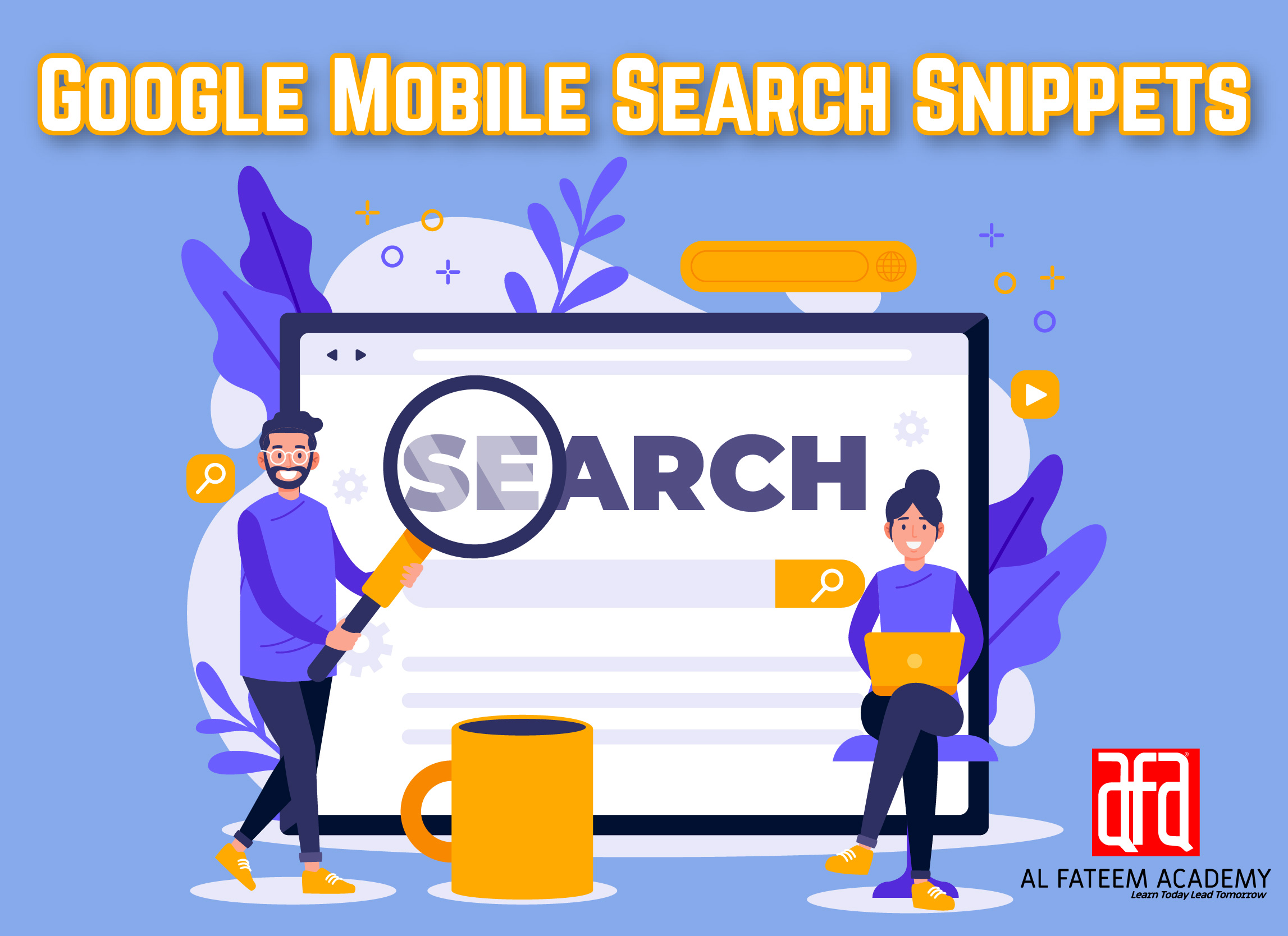 Google Mobile Search Snippets Showing Keywords Mentioned